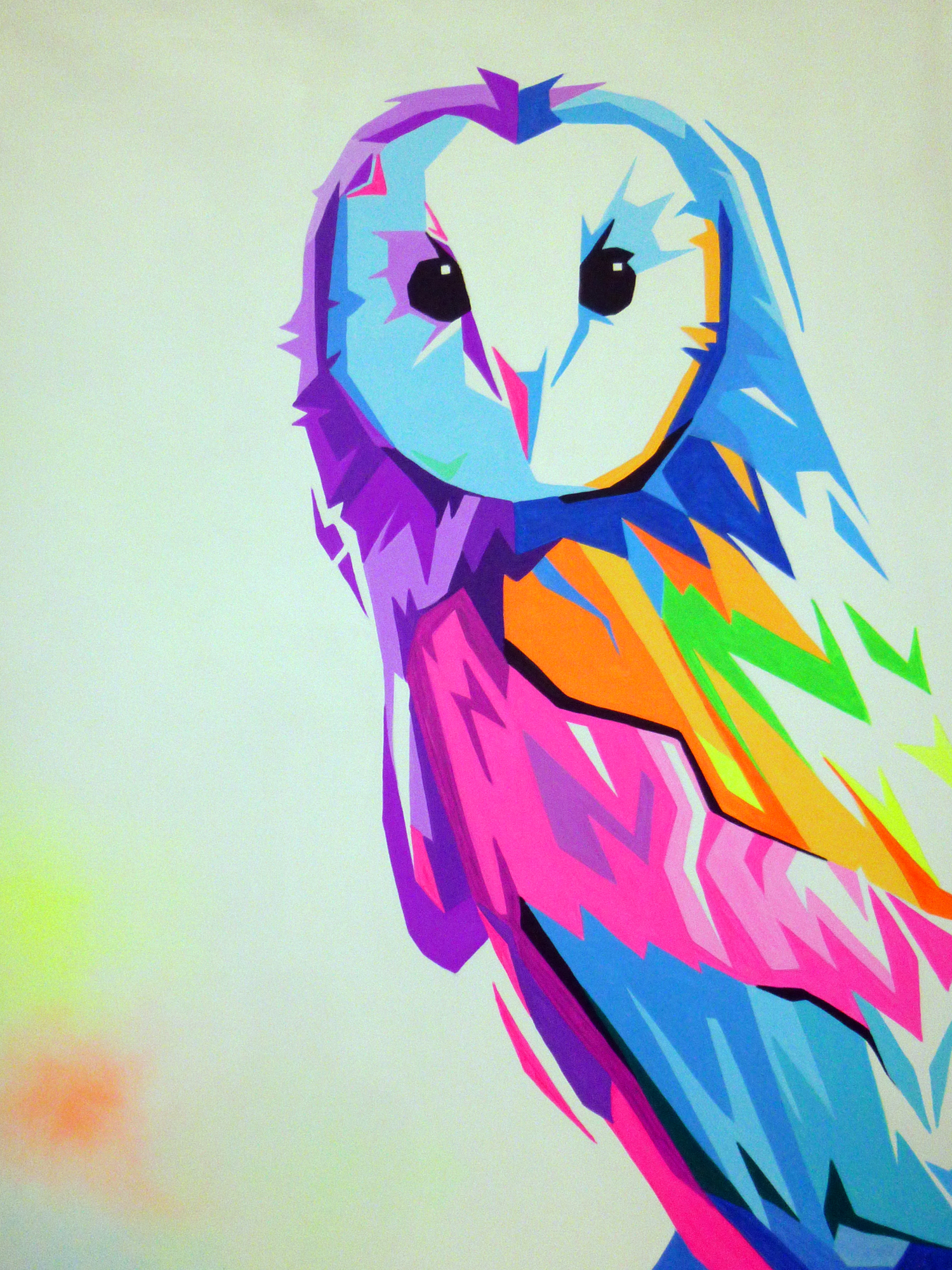 painting owl
